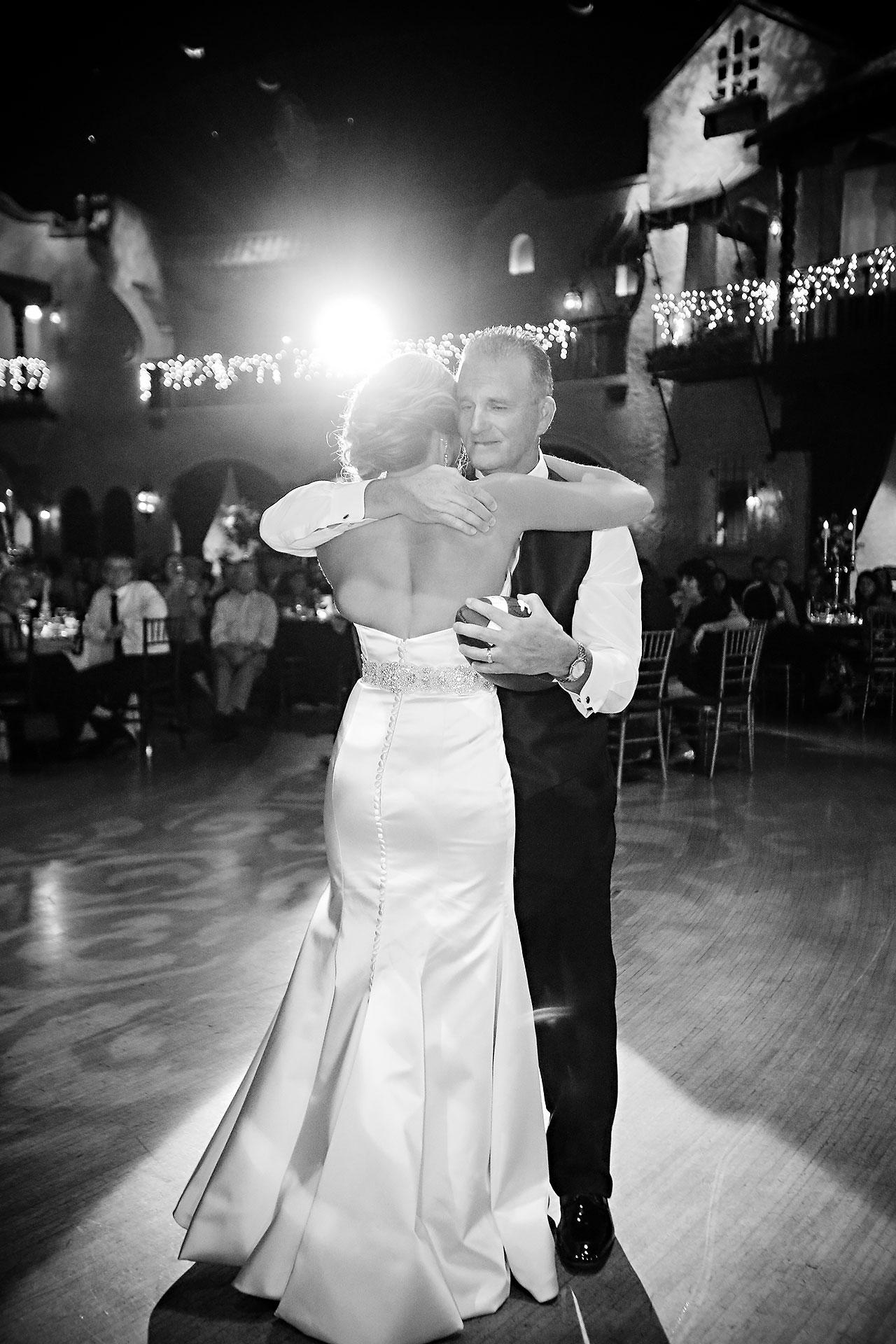 Kayci Matt Indiana Roof Ballroom Indianapolis Wedding 347