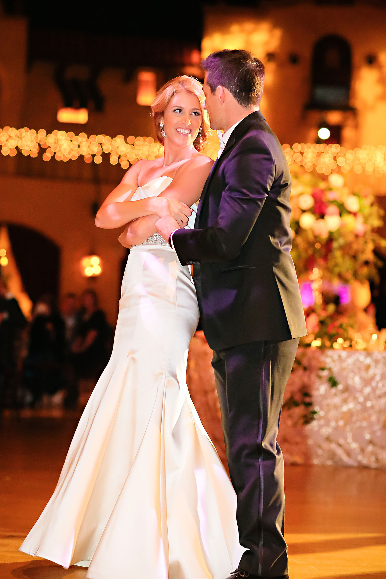 Kayci Matt Indiana Roof Ballroom Indianapolis Wedding 334