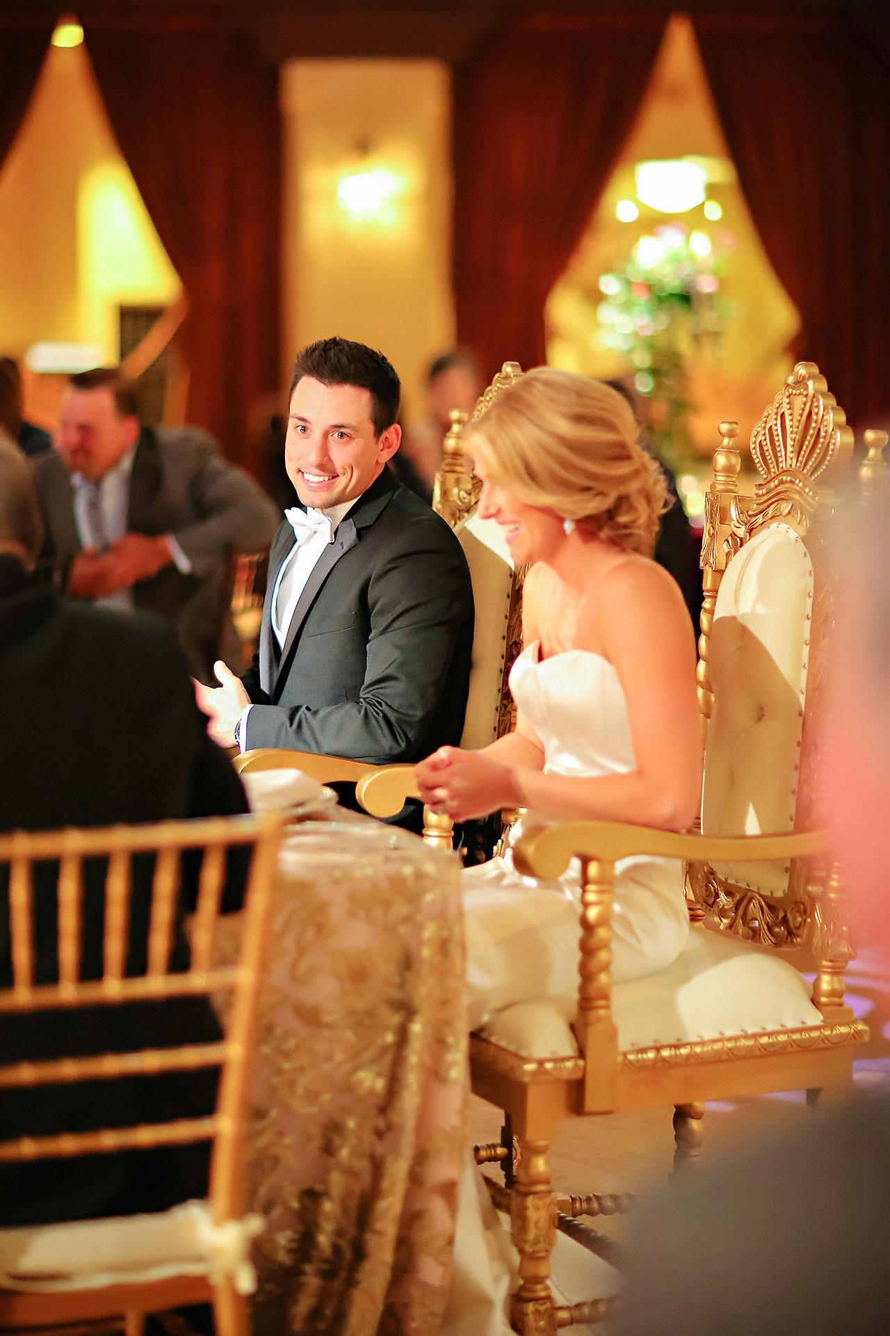 Kayci Matt Indiana Roof Ballroom Indianapolis Wedding 326