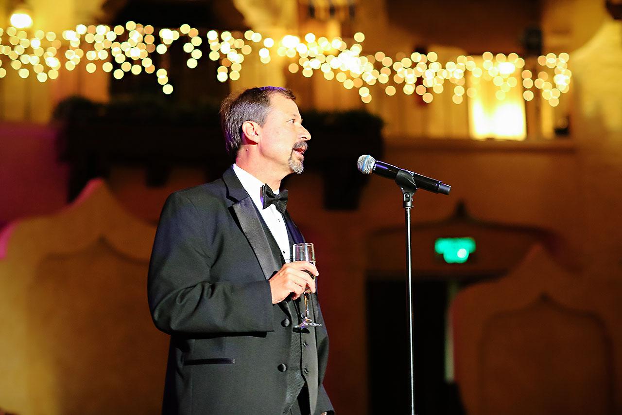 Kayci Matt Indiana Roof Ballroom Indianapolis Wedding 320