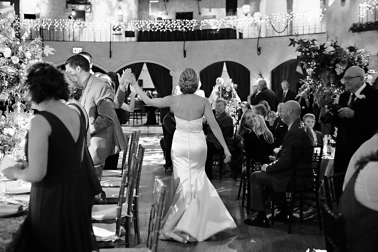 Kayci Matt Indiana Roof Ballroom Indianapolis Wedding 315