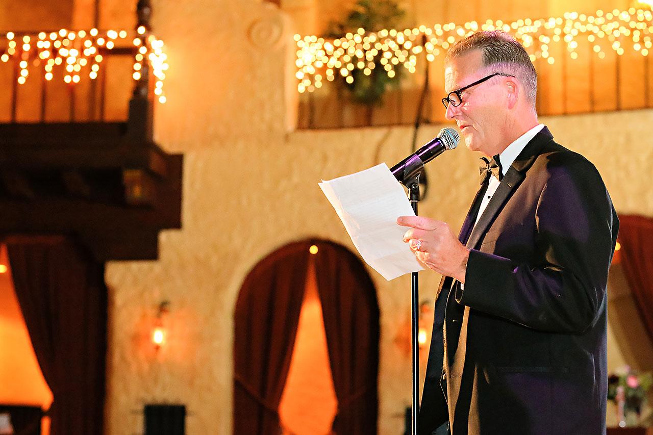 Kayci Matt Indiana Roof Ballroom Indianapolis Wedding 316
