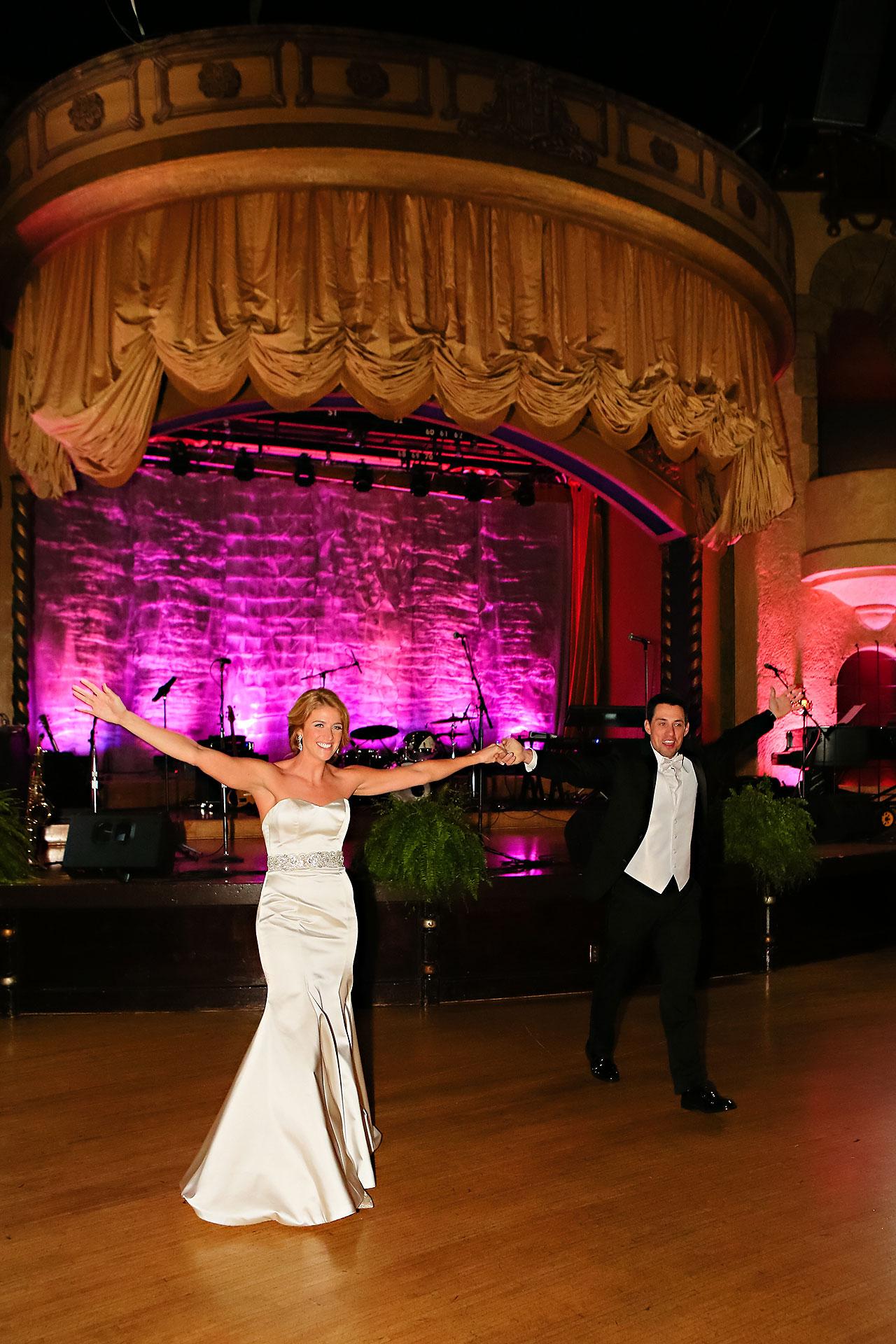 Kayci Matt Indiana Roof Ballroom Indianapolis Wedding 314