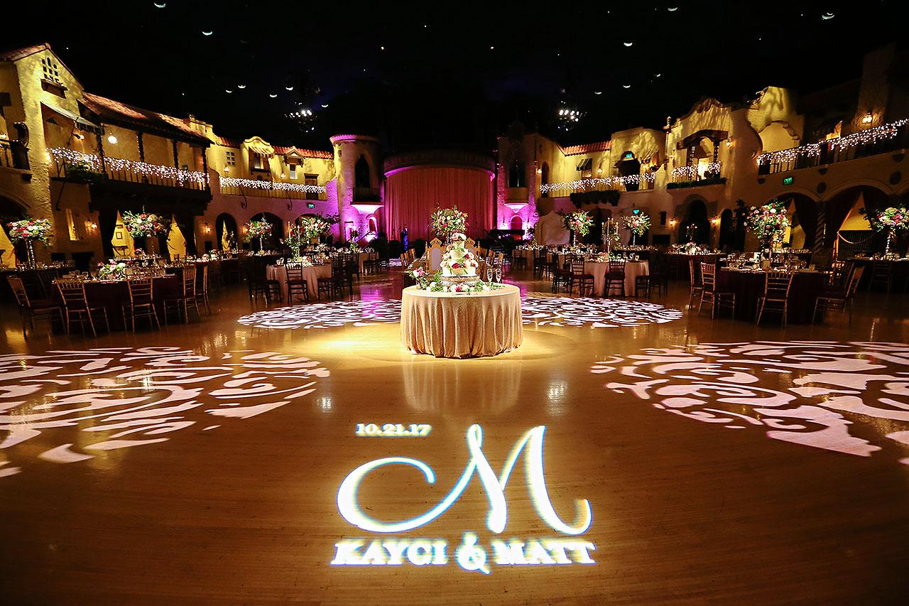 Kayci Matt Indiana Roof Ballroom Indianapolis Wedding 306