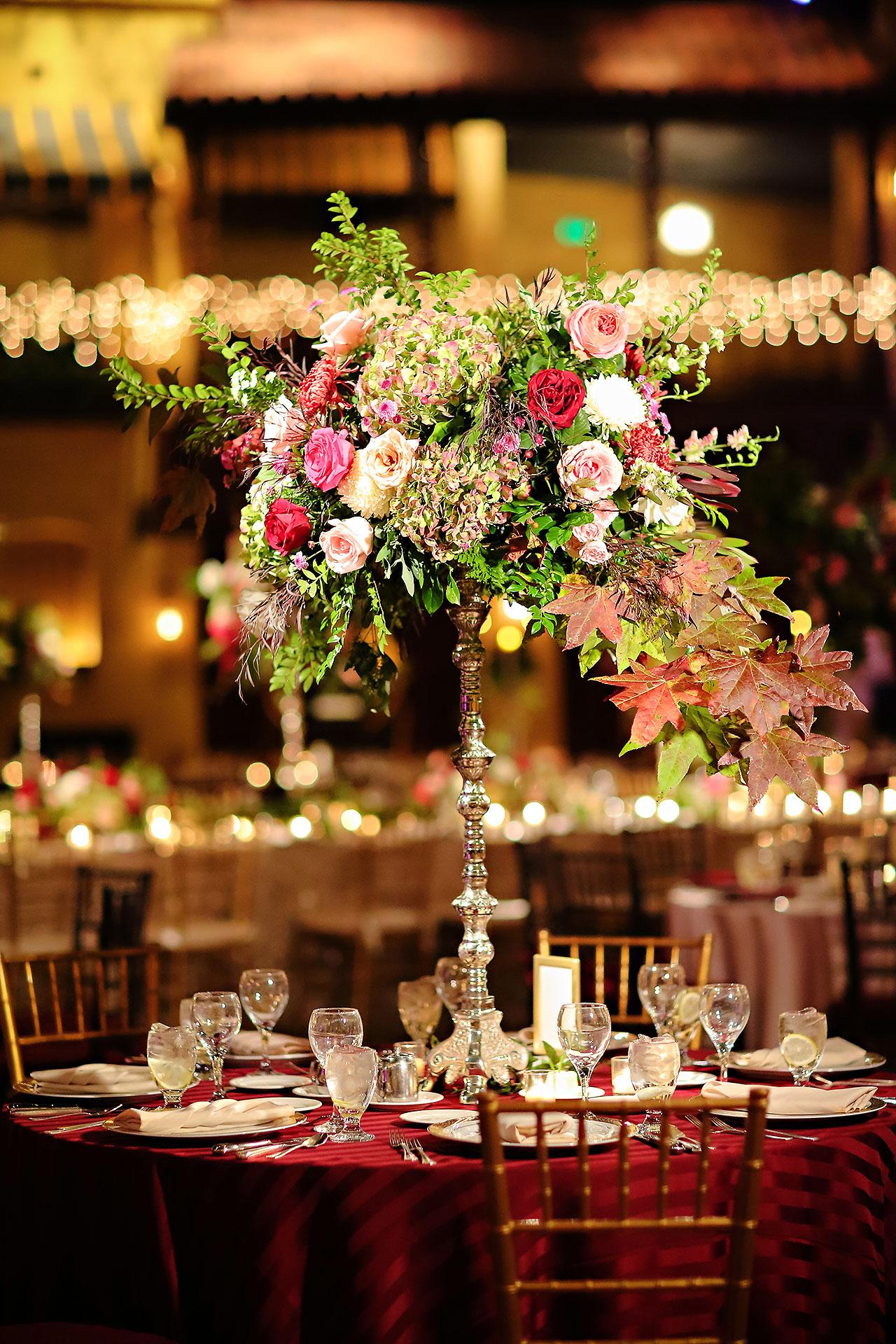 Kayci Matt Indiana Roof Ballroom Indianapolis Wedding 298