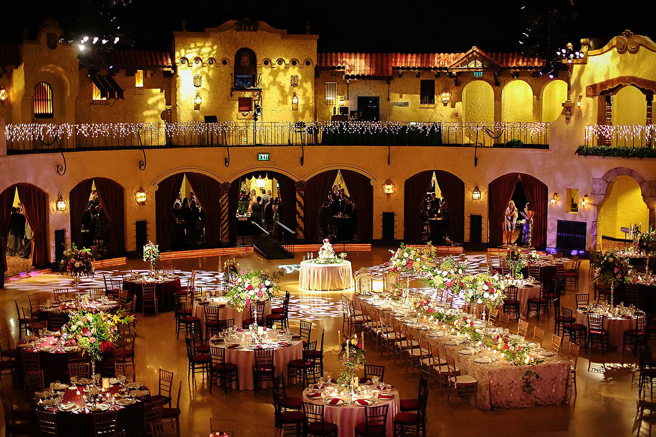 Kayci Matt Indiana Roof Ballroom Indianapolis Wedding 291