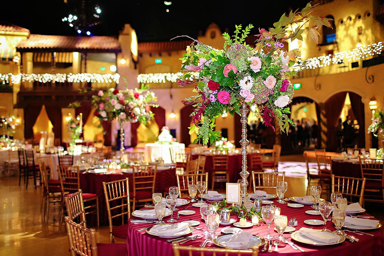 Kayci Matt Indiana Roof Ballroom Indianapolis Wedding 287