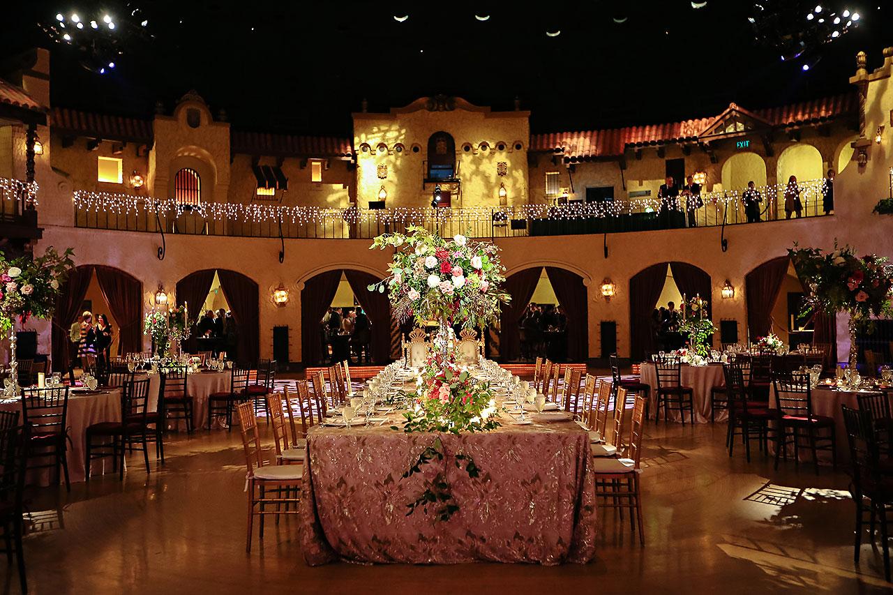 Kayci Matt Indiana Roof Ballroom Indianapolis Wedding 273
