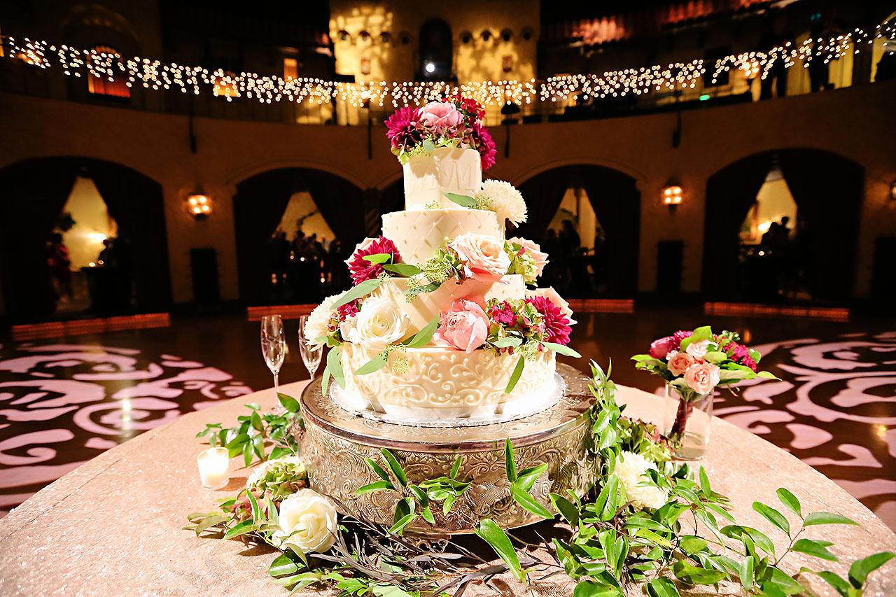Kayci Matt Indiana Roof Ballroom Indianapolis Wedding 270