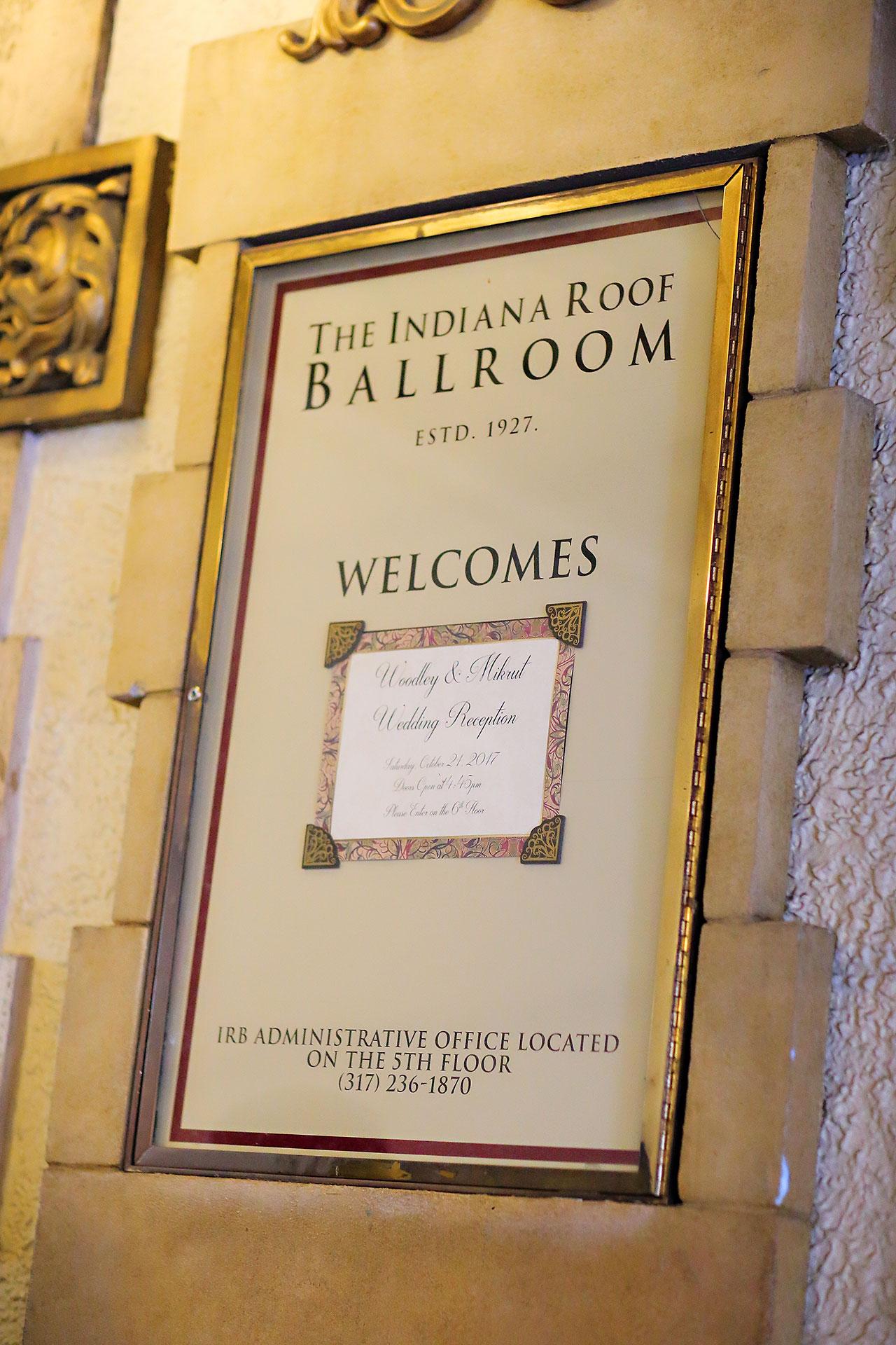Kayci Matt Indiana Roof Ballroom Indianapolis Wedding 262