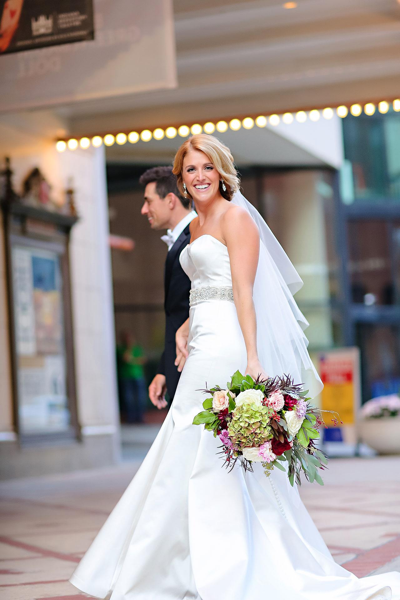 Kayci Matt Indiana Roof Ballroom Indianapolis Wedding 261