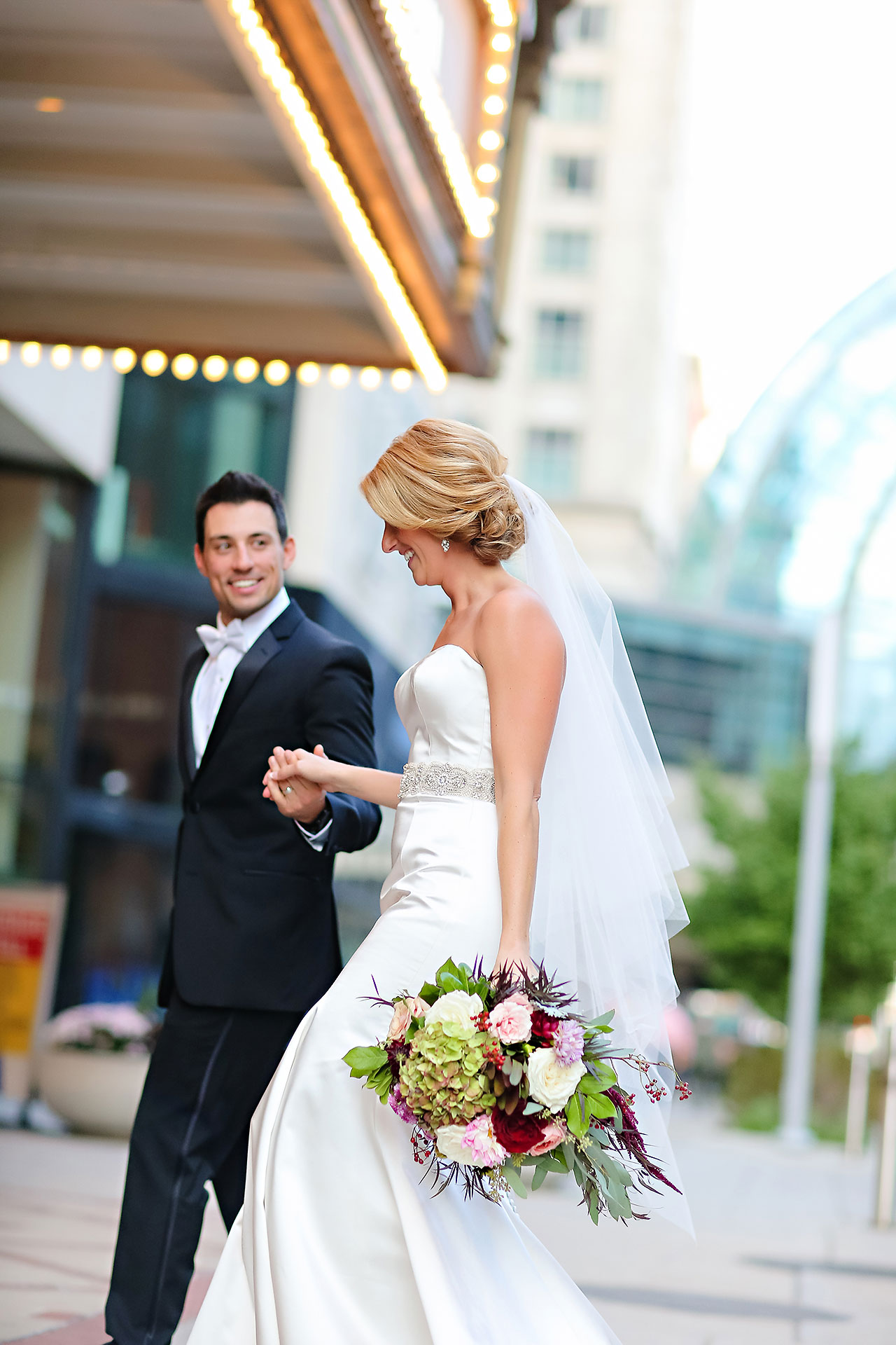 Kayci Matt Indiana Roof Ballroom Indianapolis Wedding 260