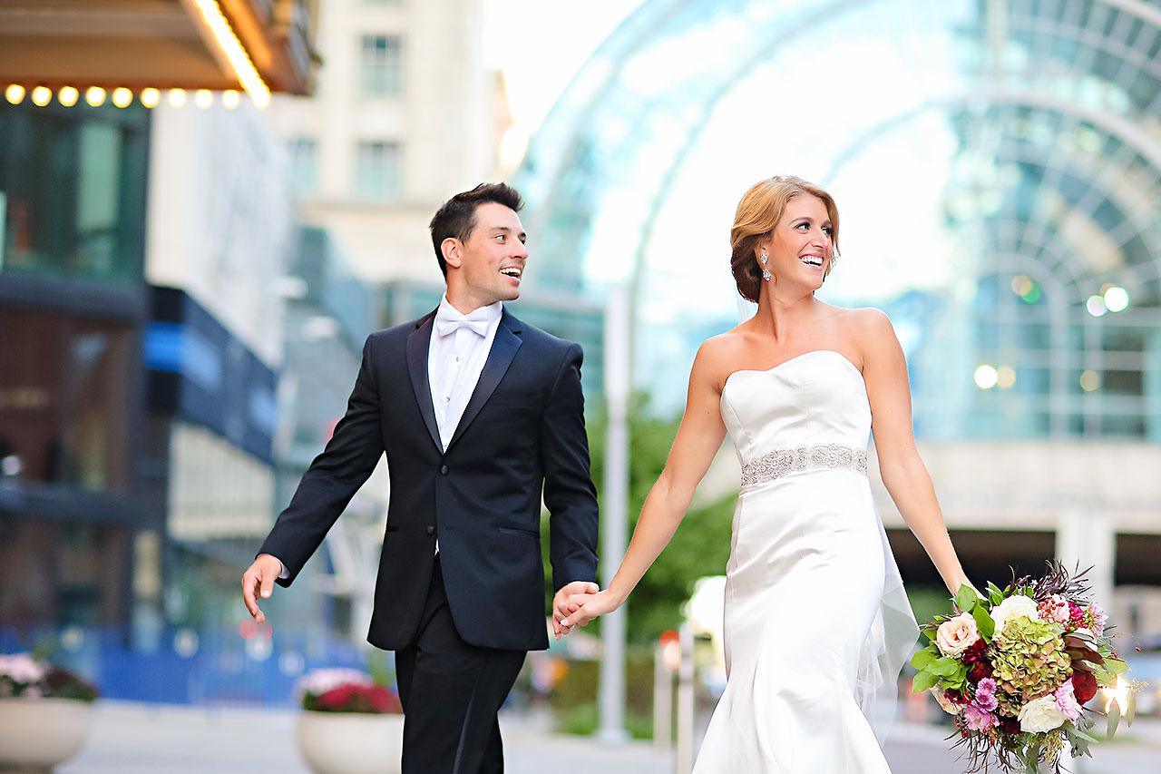 Kayci Matt Indiana Roof Ballroom Indianapolis Wedding 255