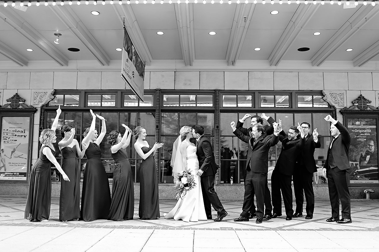 Kayci Matt Indiana Roof Ballroom Indianapolis Wedding 252