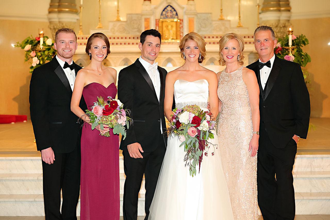 Kayci Matt Indiana Roof Ballroom Indianapolis Wedding 248