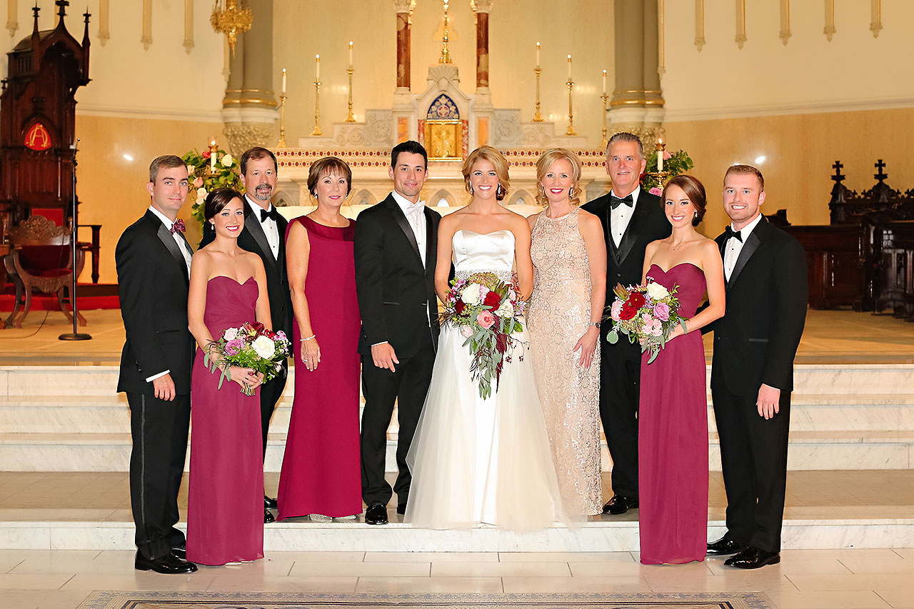 Kayci Matt Indiana Roof Ballroom Indianapolis Wedding 249