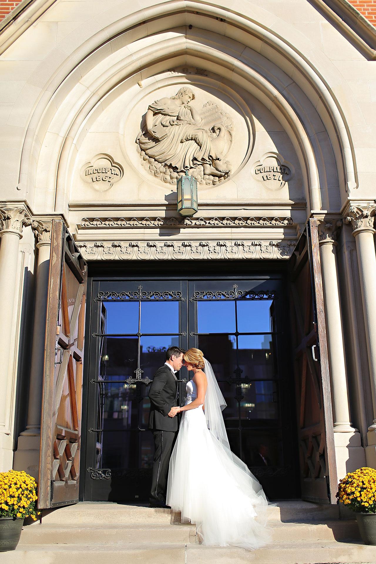 Kayci Matt Indiana Roof Ballroom Indianapolis Wedding 246