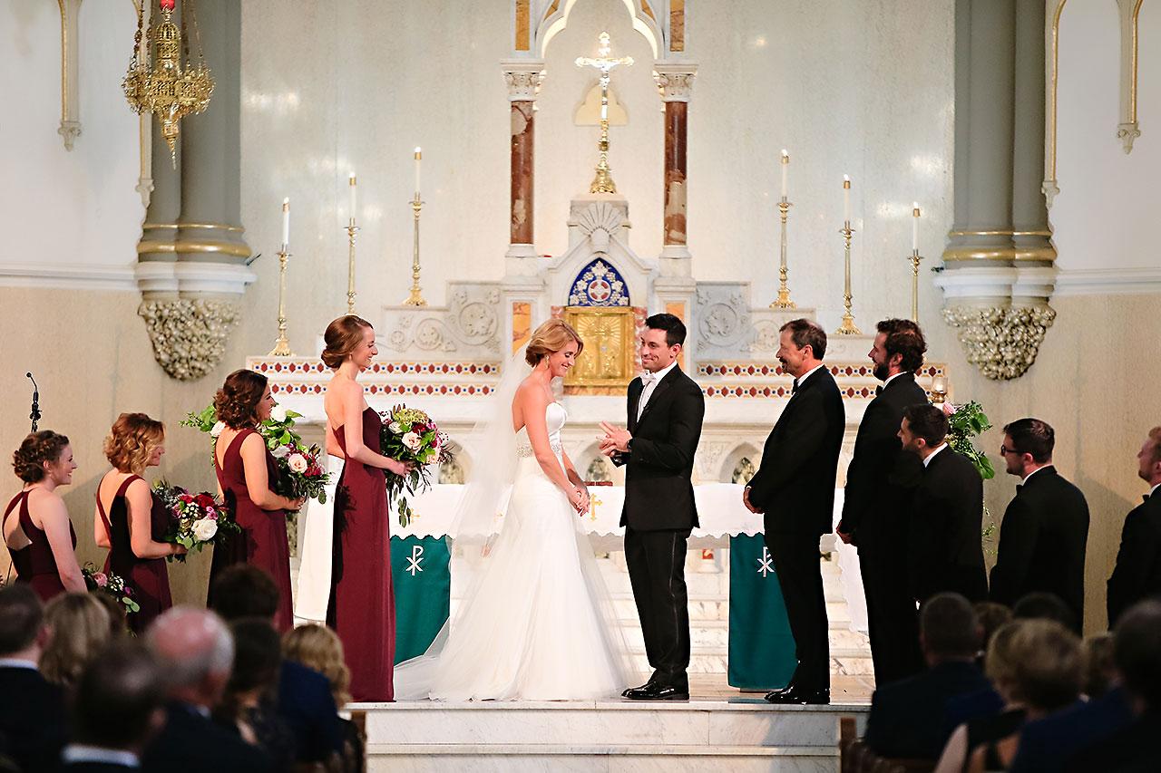 Kayci Matt Indiana Roof Ballroom Indianapolis Wedding 243