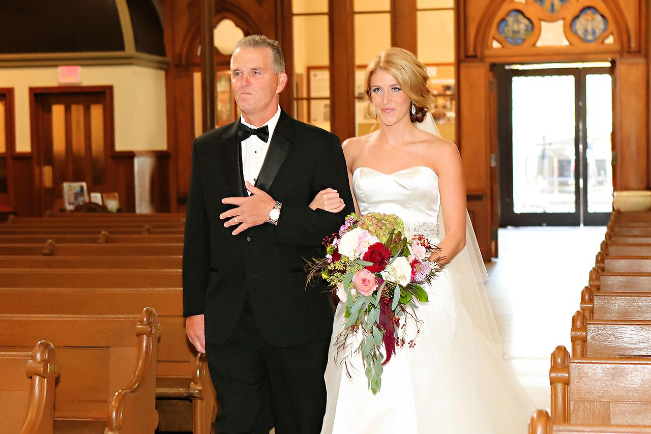 Kayci Matt Indiana Roof Ballroom Indianapolis Wedding 239