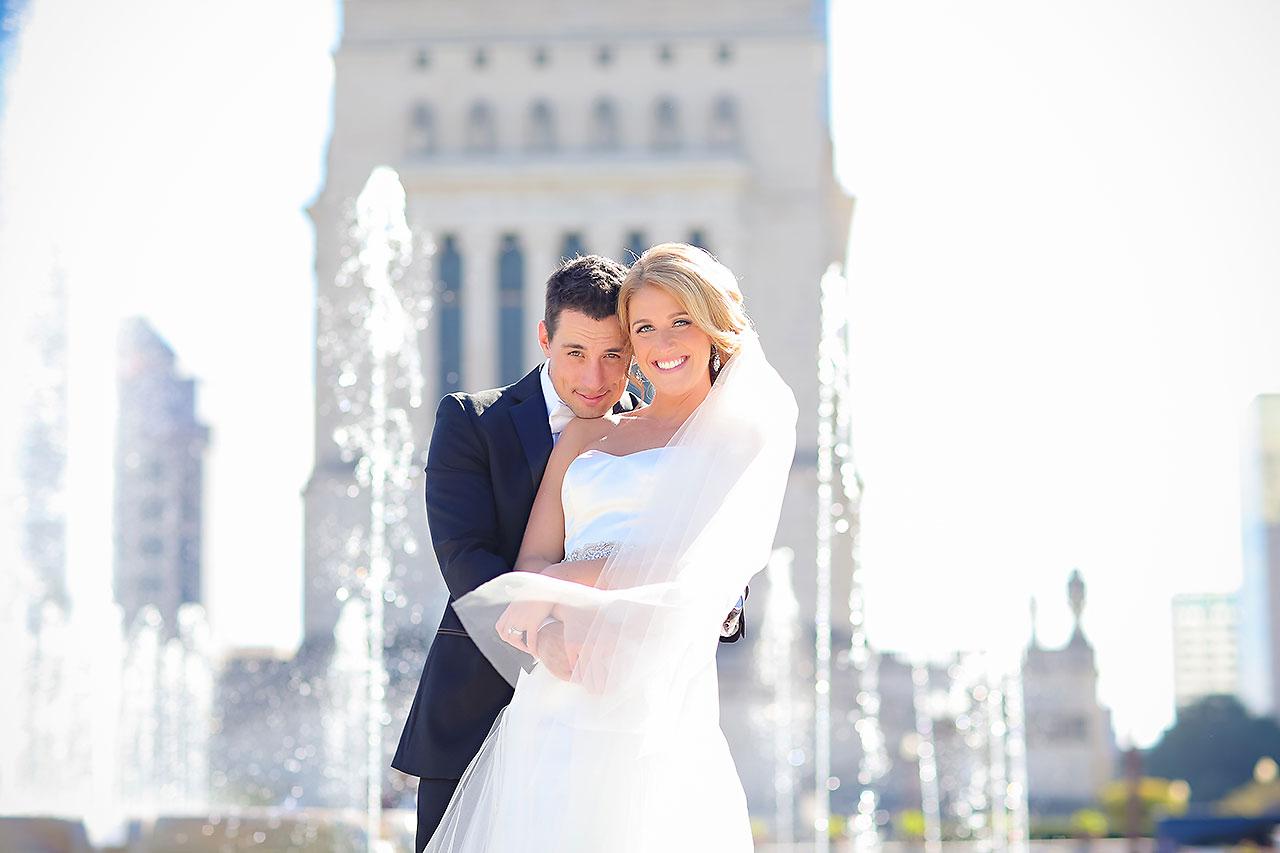 Kayci Matt Indiana Roof Ballroom Indianapolis Wedding 231