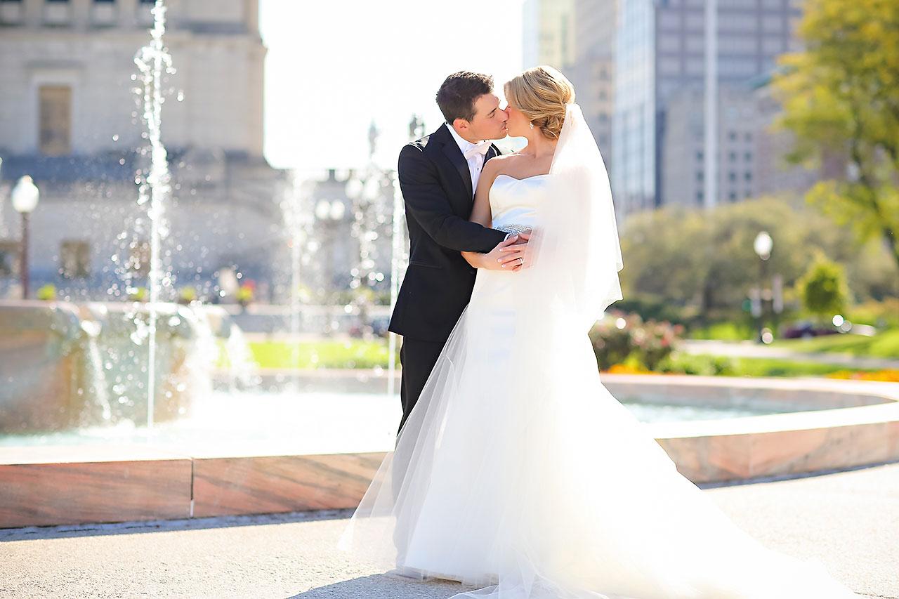 Kayci Matt Indiana Roof Ballroom Indianapolis Wedding 232