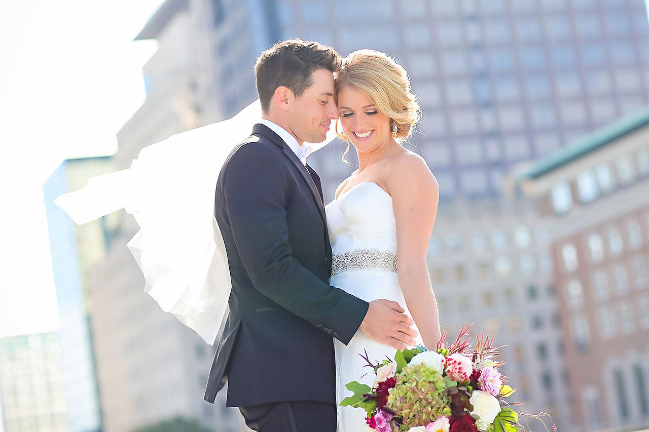 Kayci Matt Indiana Roof Ballroom Indianapolis Wedding 229