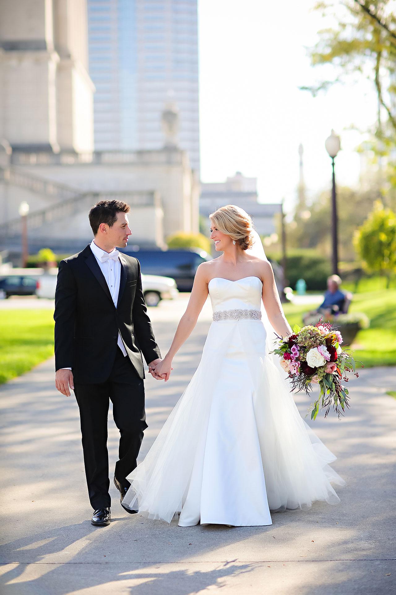 Kayci Matt Indiana Roof Ballroom Indianapolis Wedding 223