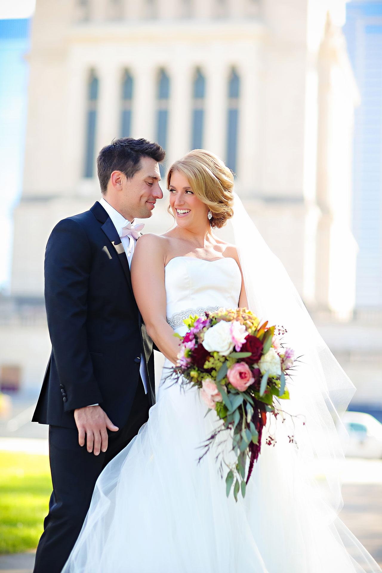 Kayci Matt Indiana Roof Ballroom Indianapolis Wedding 221