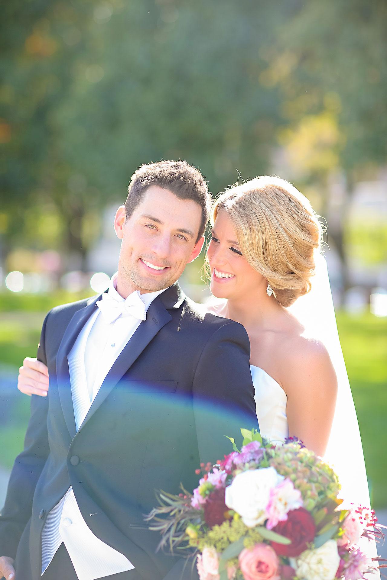 Kayci Matt Indiana Roof Ballroom Indianapolis Wedding 219