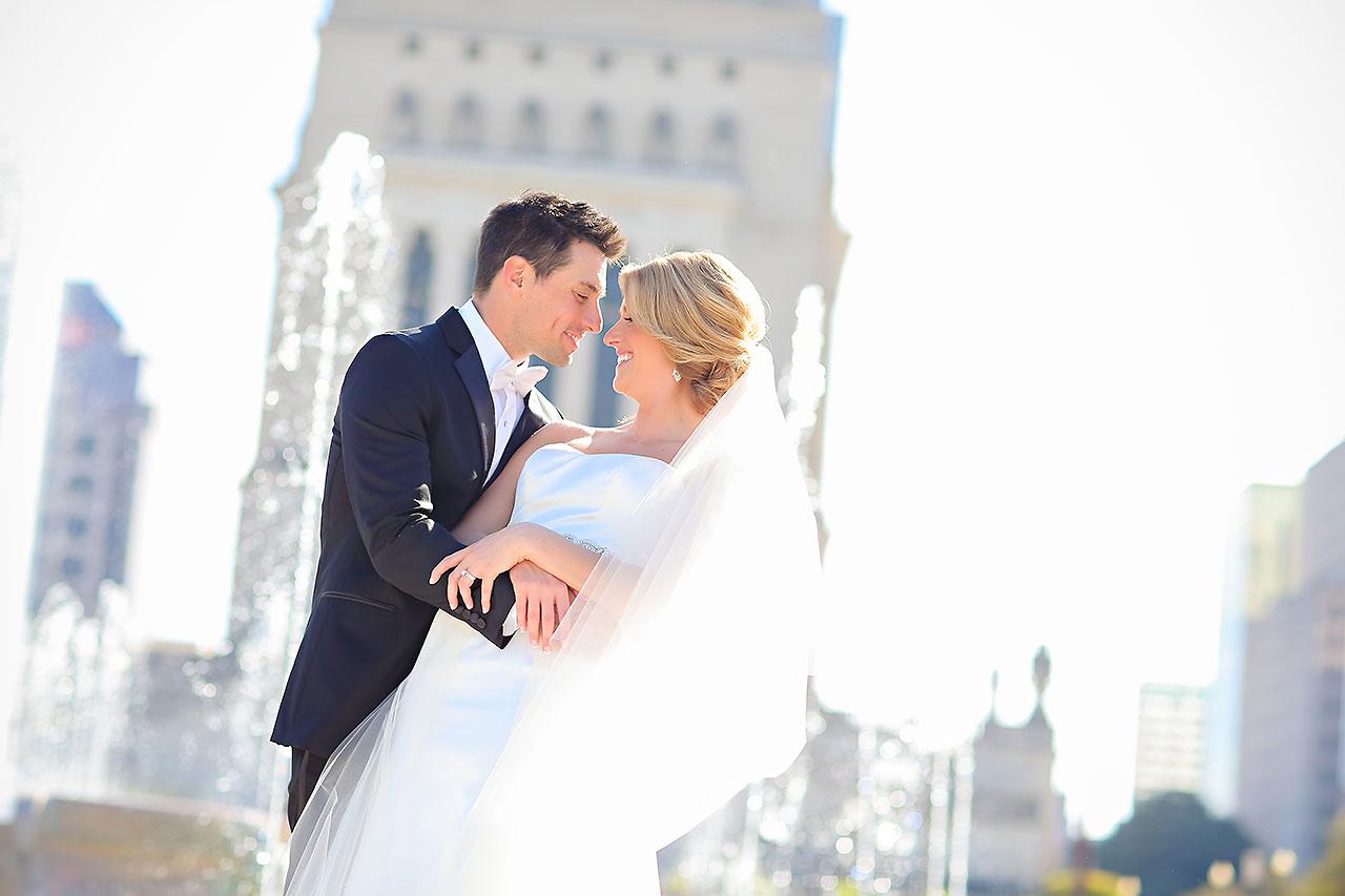 Kayci Matt Indiana Roof Ballroom Indianapolis Wedding 215