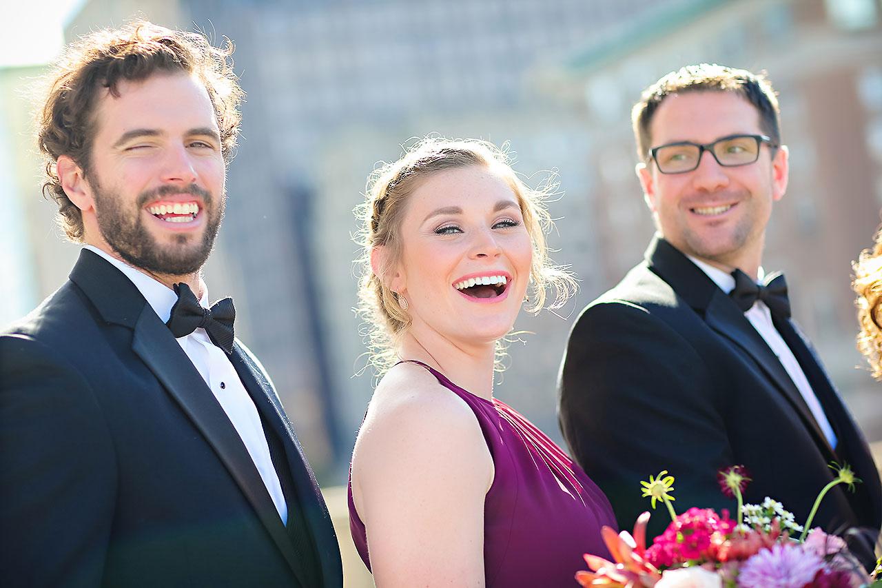 Kayci Matt Indiana Roof Ballroom Indianapolis Wedding 214
