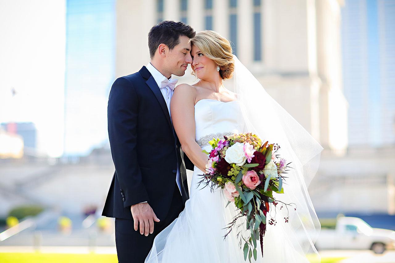 Kayci Matt Indiana Roof Ballroom Indianapolis Wedding 212