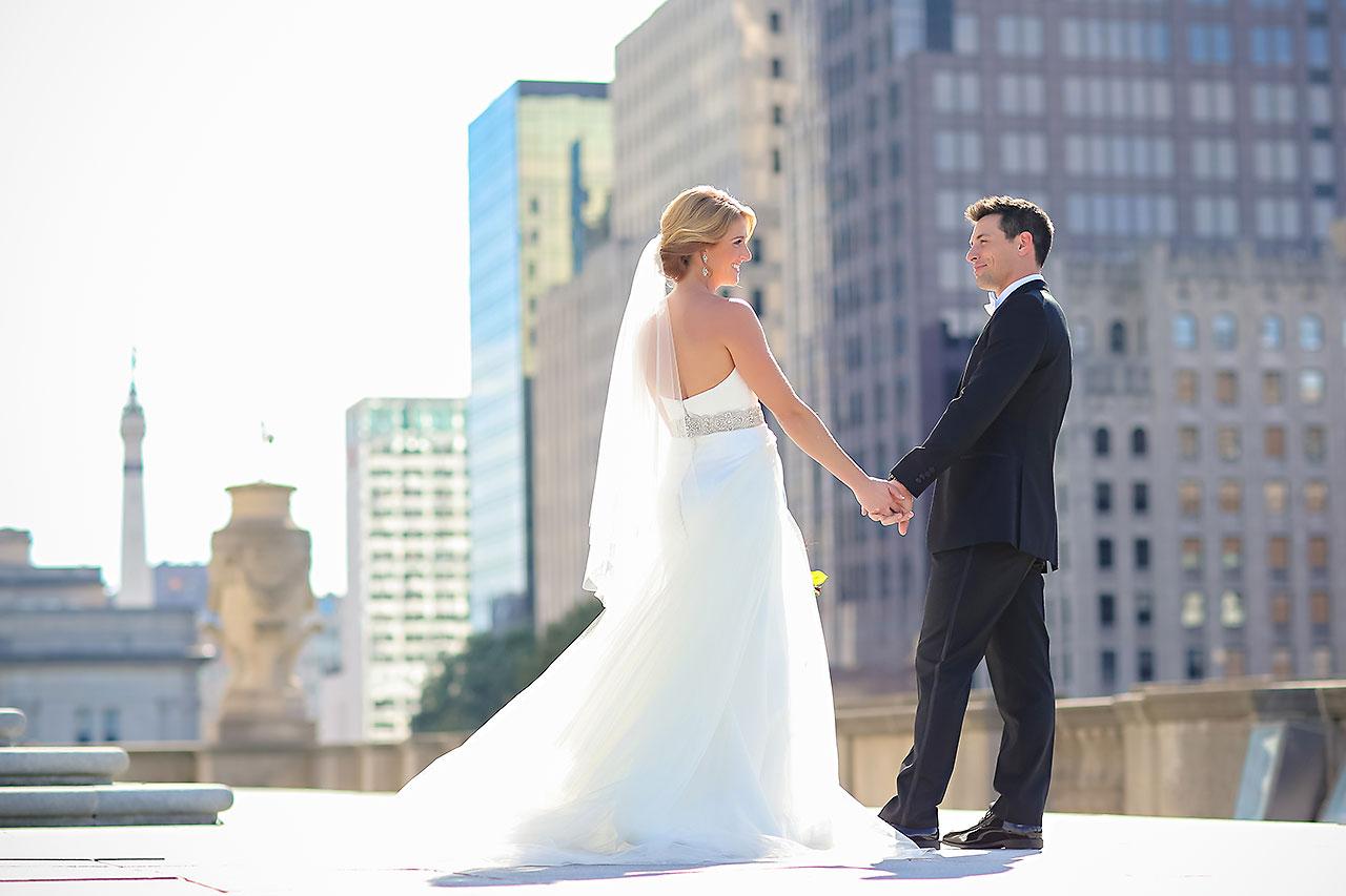 Kayci Matt Indiana Roof Ballroom Indianapolis Wedding 210
