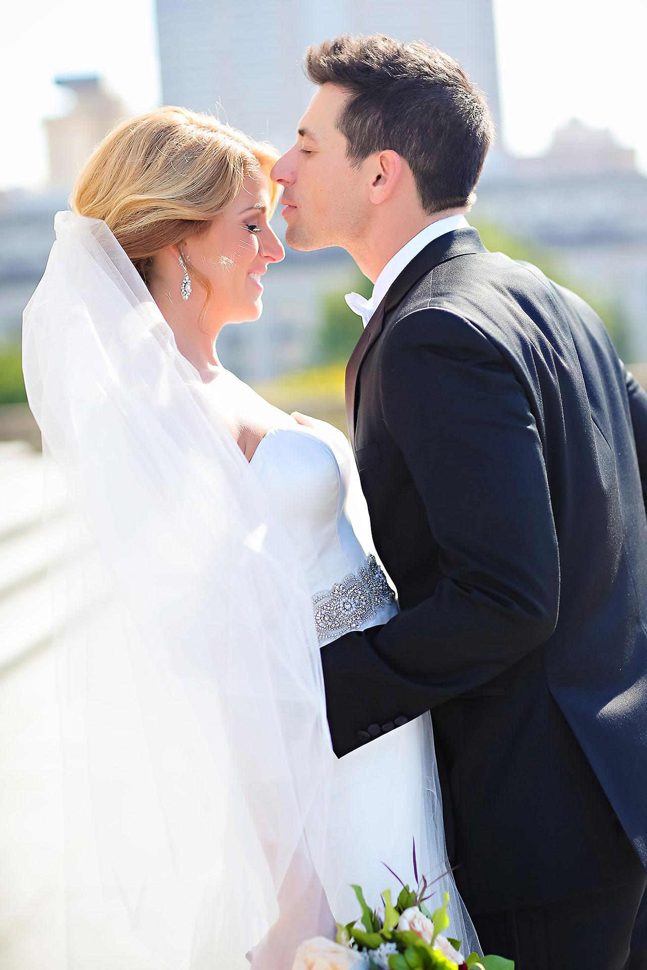 Kayci Matt Indiana Roof Ballroom Indianapolis Wedding 206