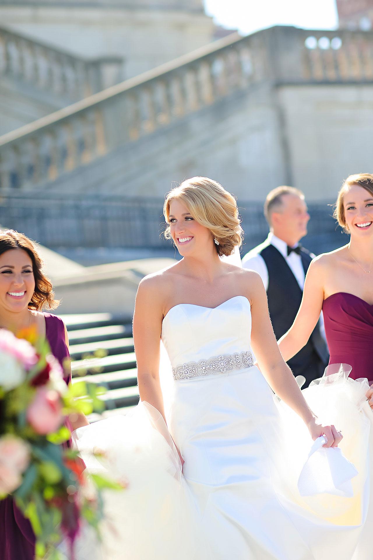Kayci Matt Indiana Roof Ballroom Indianapolis Wedding 207