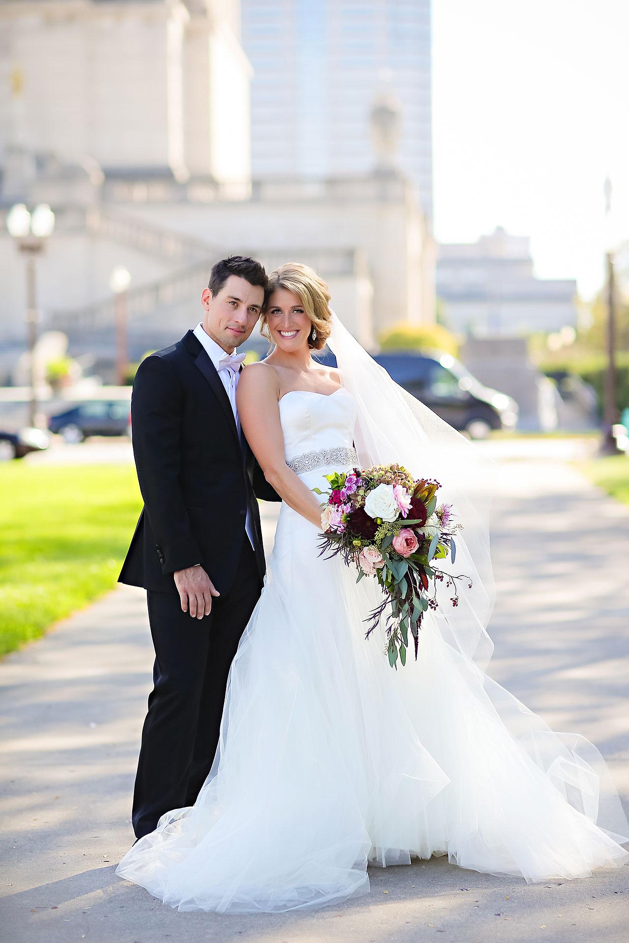 Kayci Matt Indiana Roof Ballroom Indianapolis Wedding 197