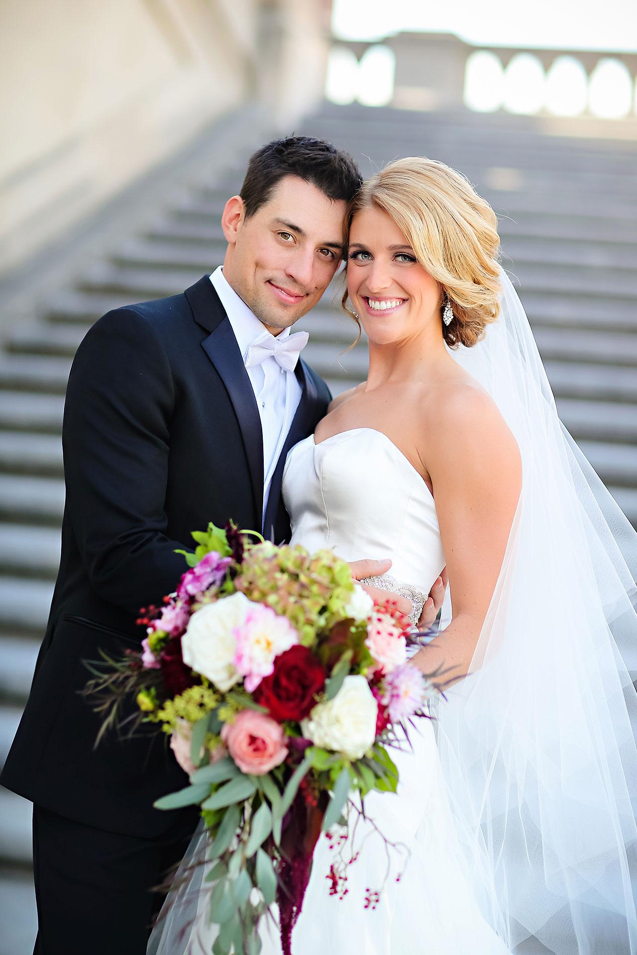 Kayci Matt Indiana Roof Ballroom Indianapolis Wedding 190