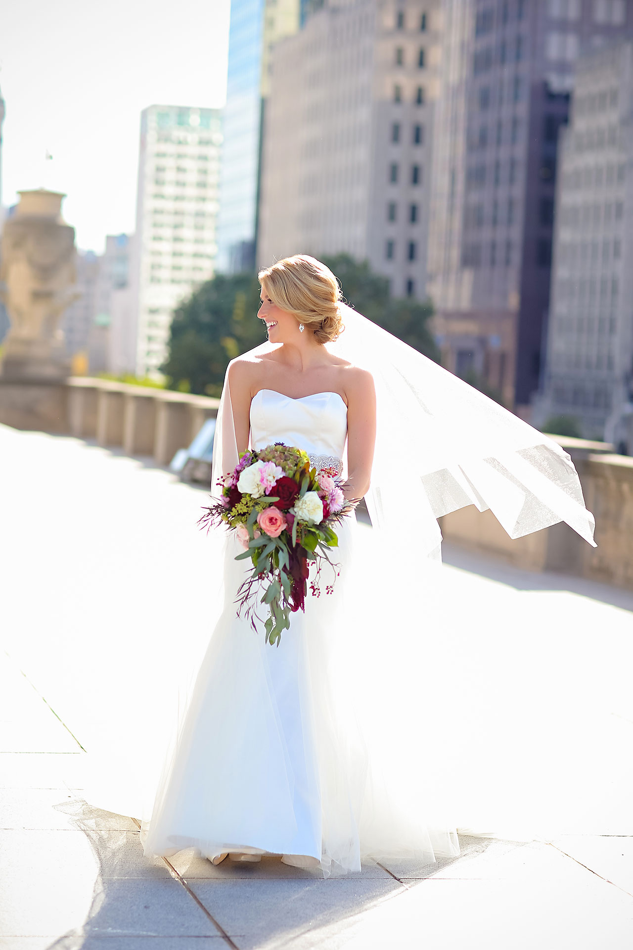 Kayci Matt Indiana Roof Ballroom Indianapolis Wedding 186