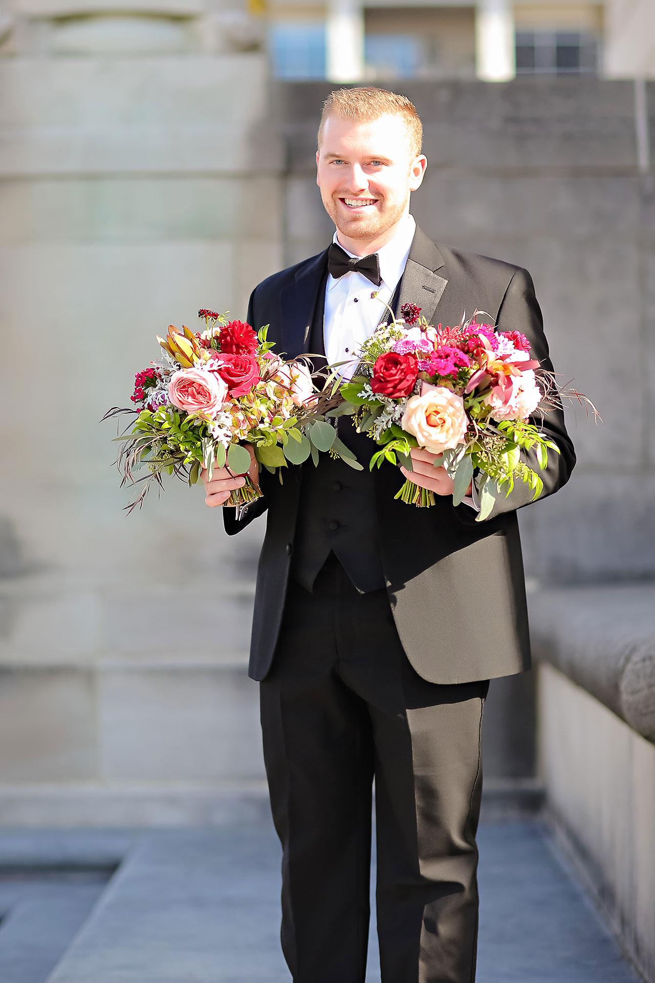 Kayci Matt Indiana Roof Ballroom Indianapolis Wedding 183