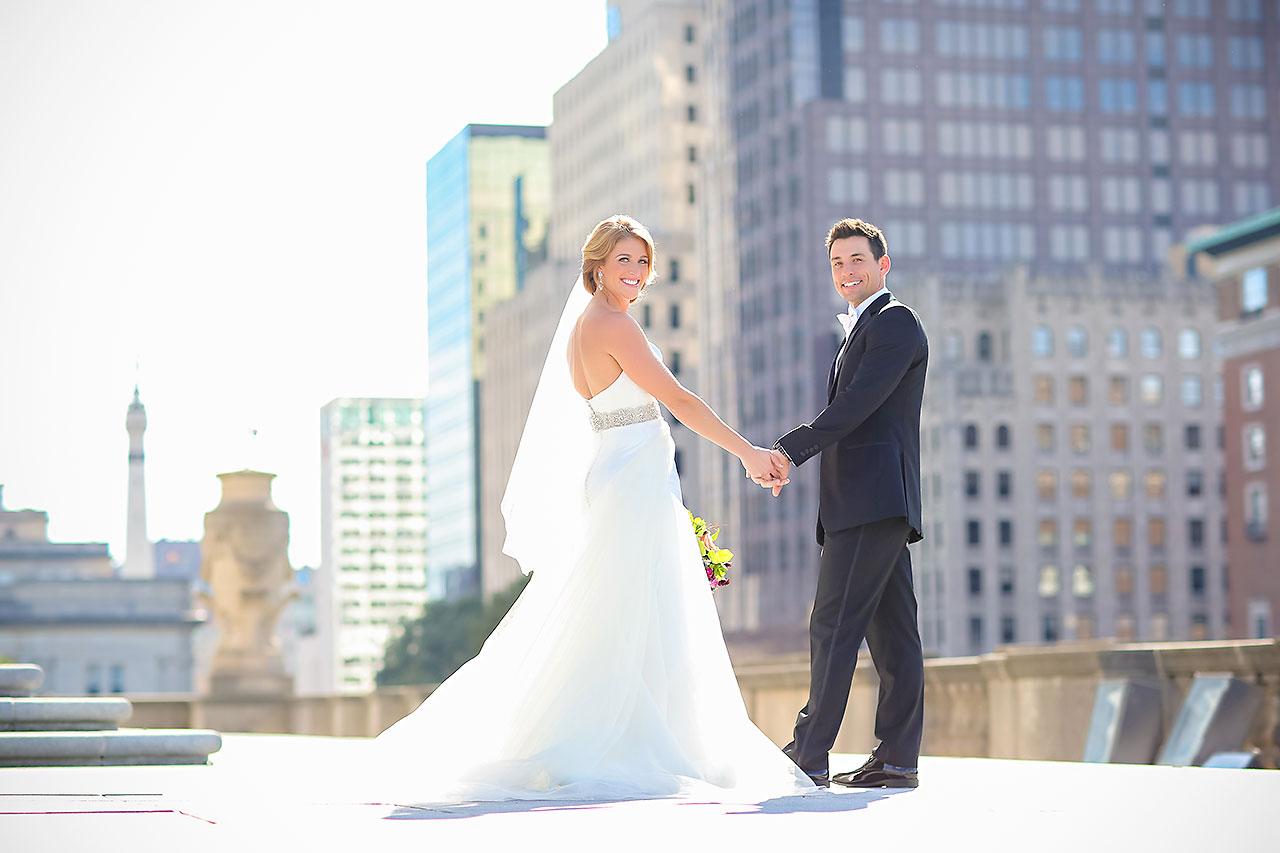 Kayci Matt Indiana Roof Ballroom Indianapolis Wedding 178
