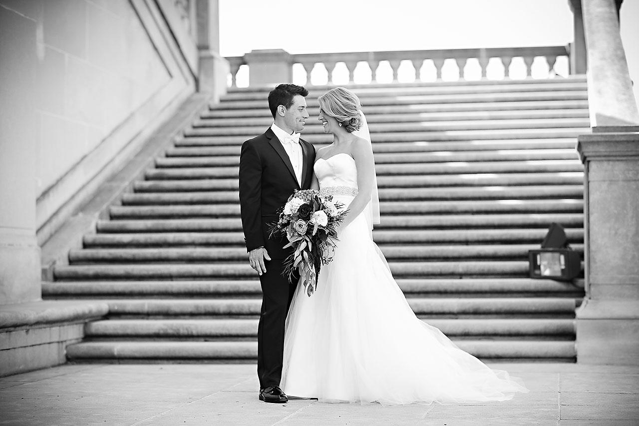 Kayci Matt Indiana Roof Ballroom Indianapolis Wedding 176