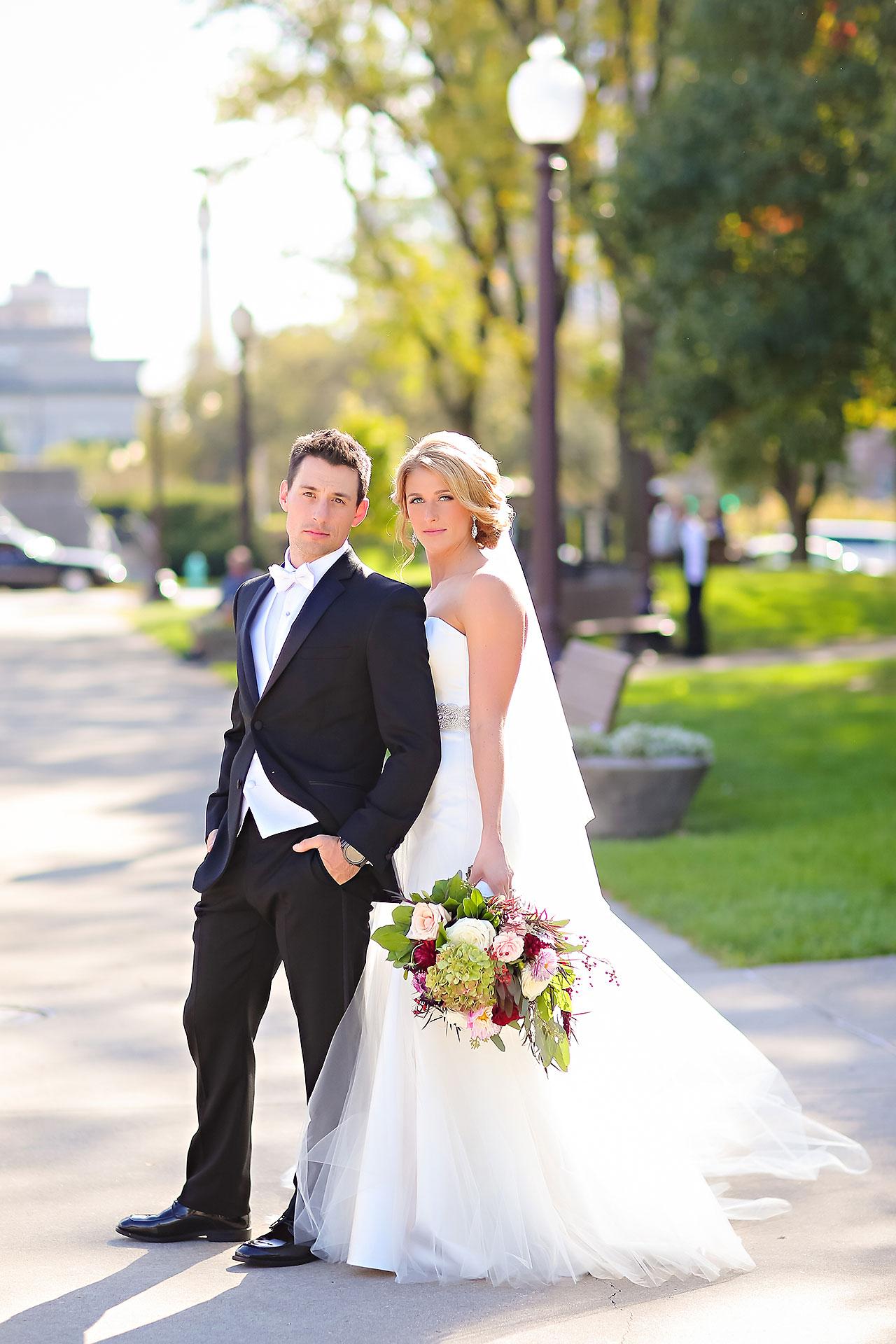 Kayci Matt Indiana Roof Ballroom Indianapolis Wedding 173