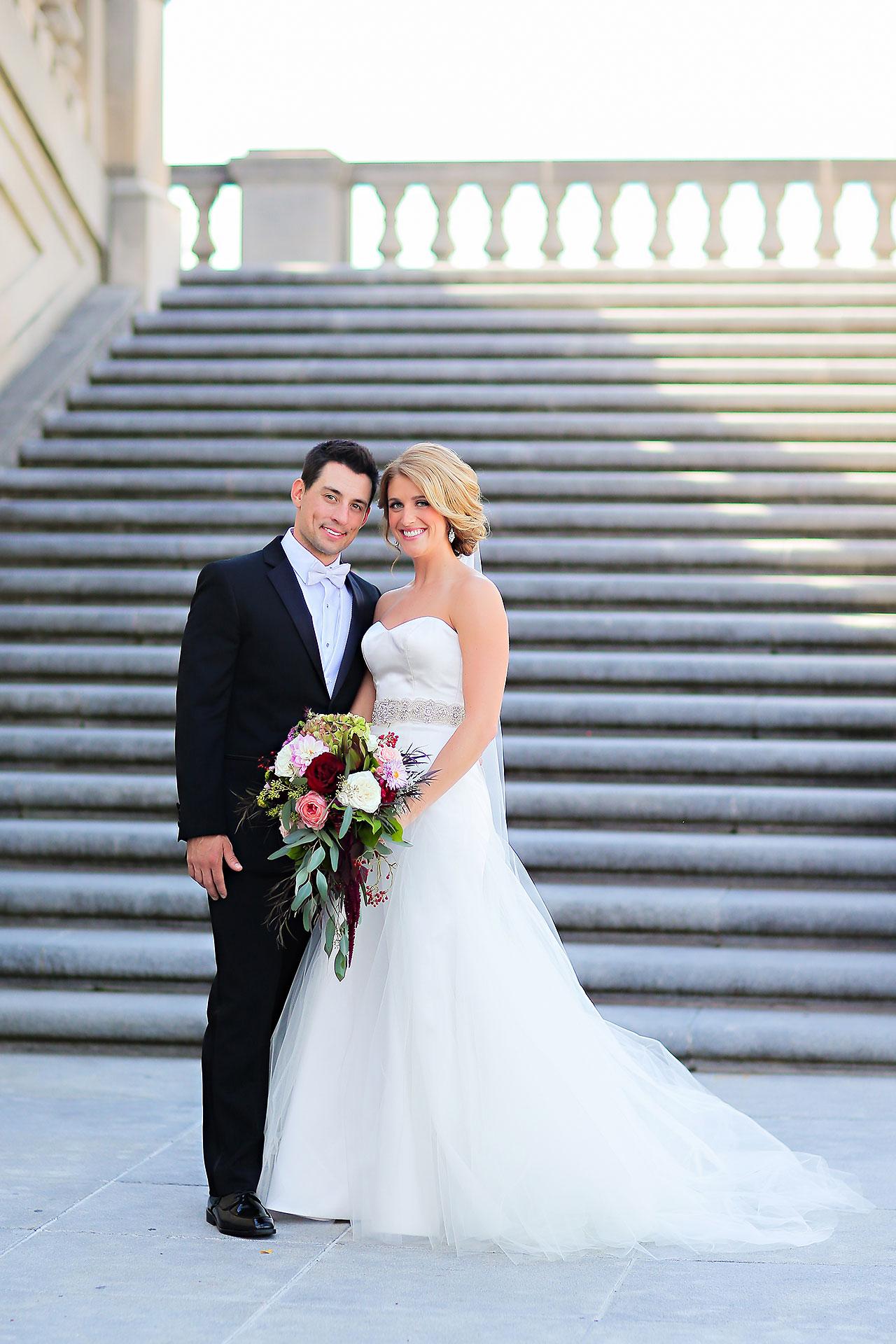 Kayci Matt Indiana Roof Ballroom Indianapolis Wedding 169
