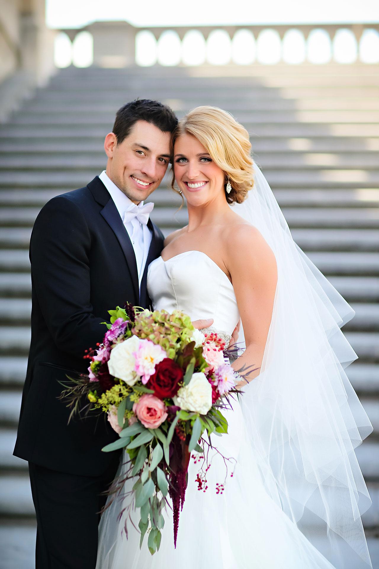 Kayci Matt Indiana Roof Ballroom Indianapolis Wedding 171