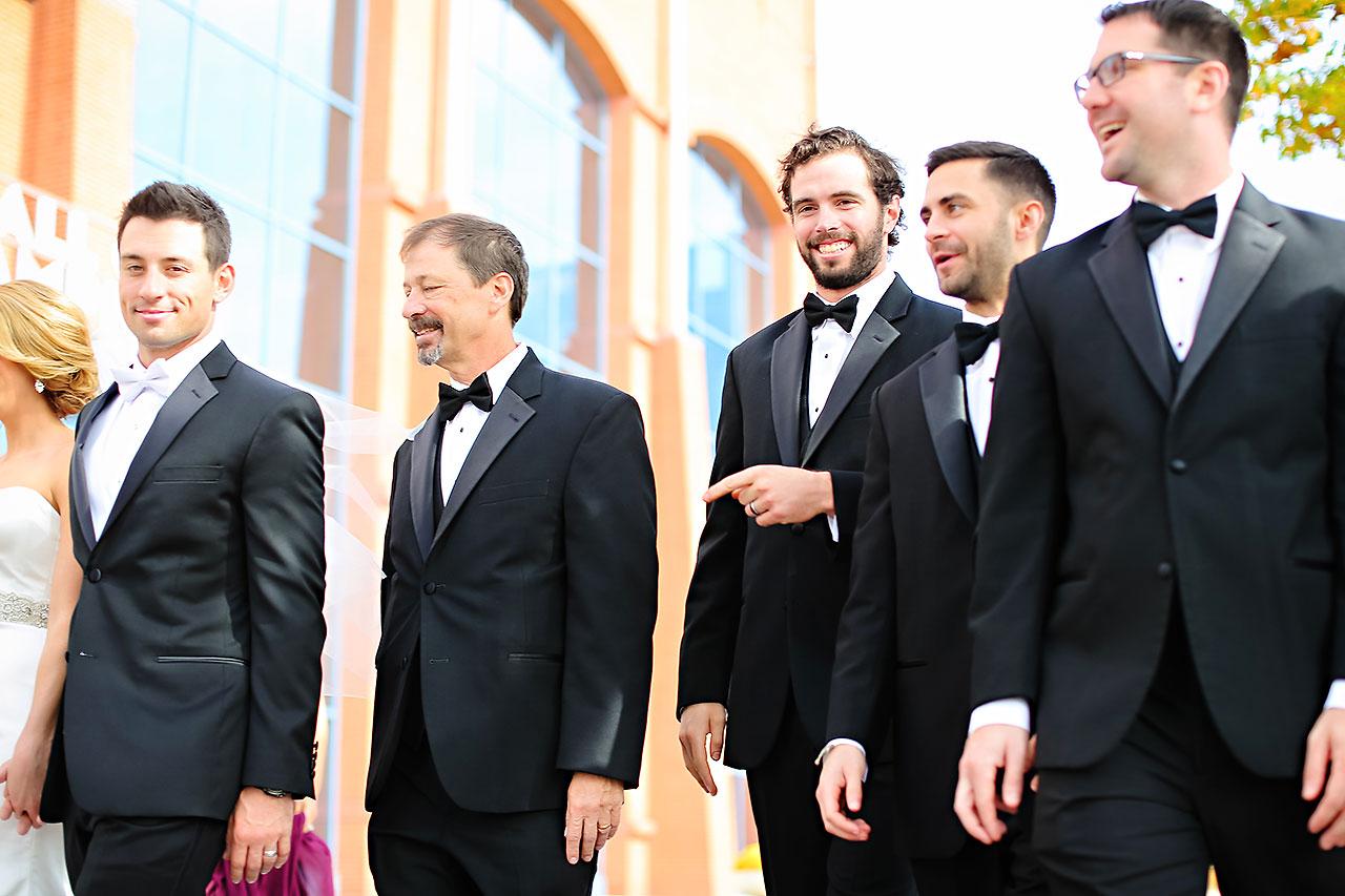 Kayci Matt Indiana Roof Ballroom Indianapolis Wedding 166