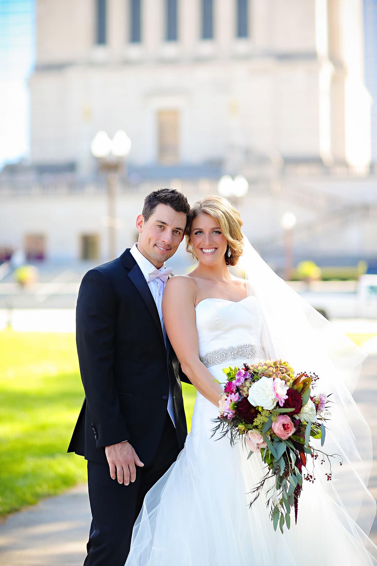 Kayci Matt Indiana Roof Ballroom Indianapolis Wedding 167