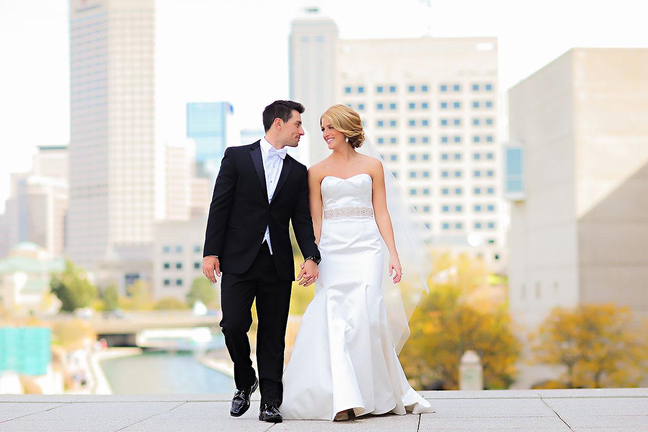 Kayci Matt Indiana Roof Ballroom Indianapolis Wedding 165