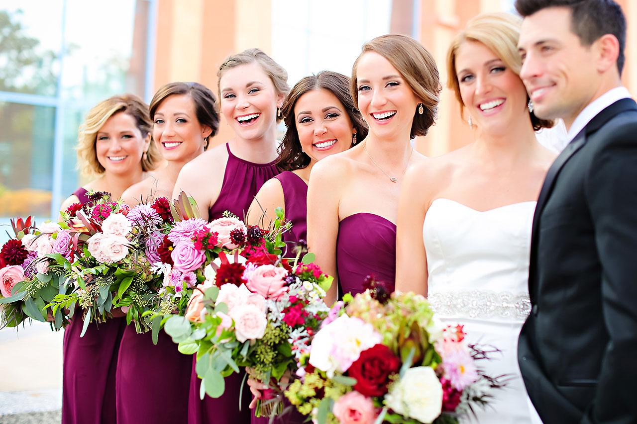 Kayci Matt Indiana Roof Ballroom Indianapolis Wedding 160