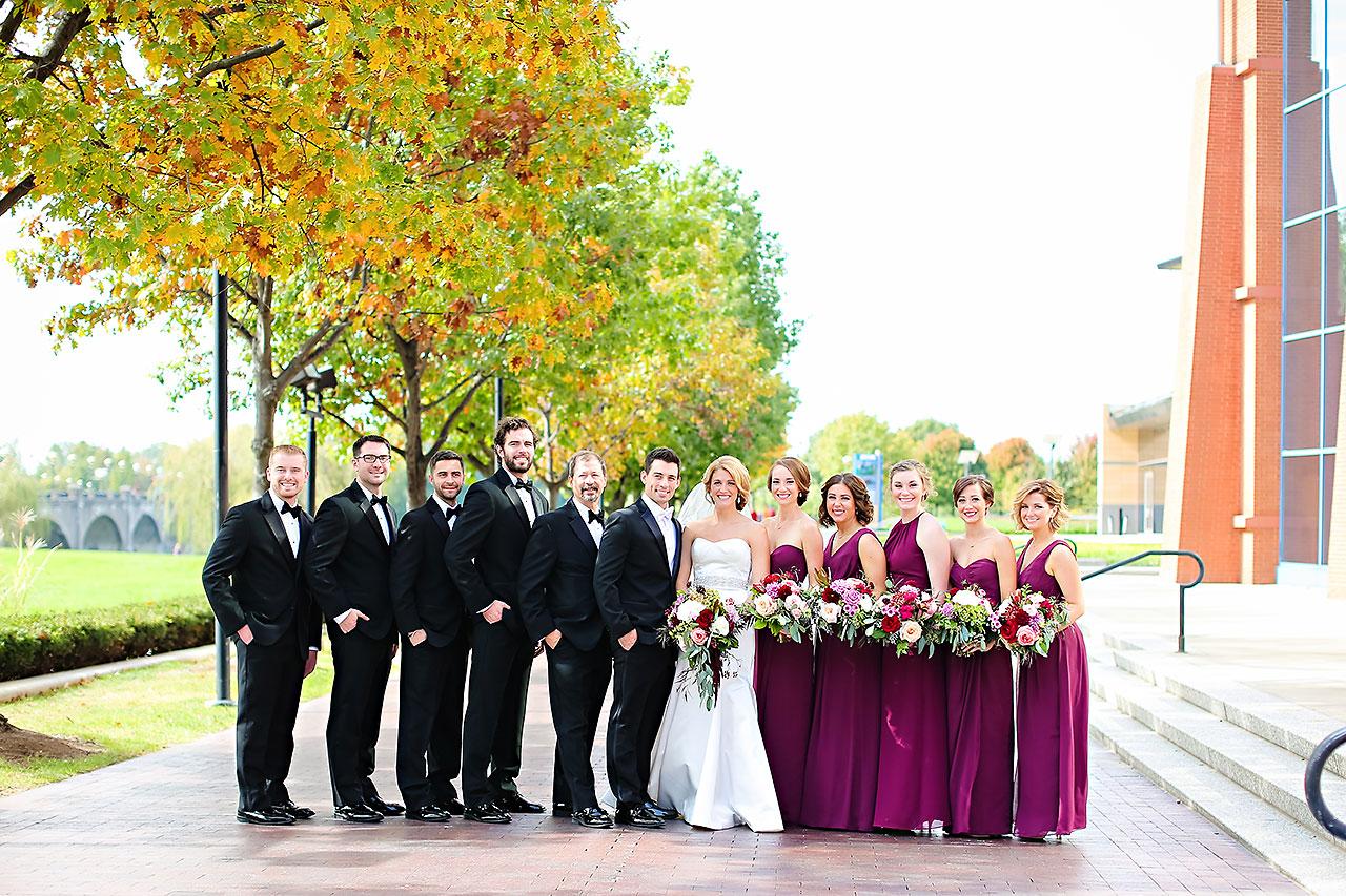 Kayci Matt Indiana Roof Ballroom Indianapolis Wedding 158
