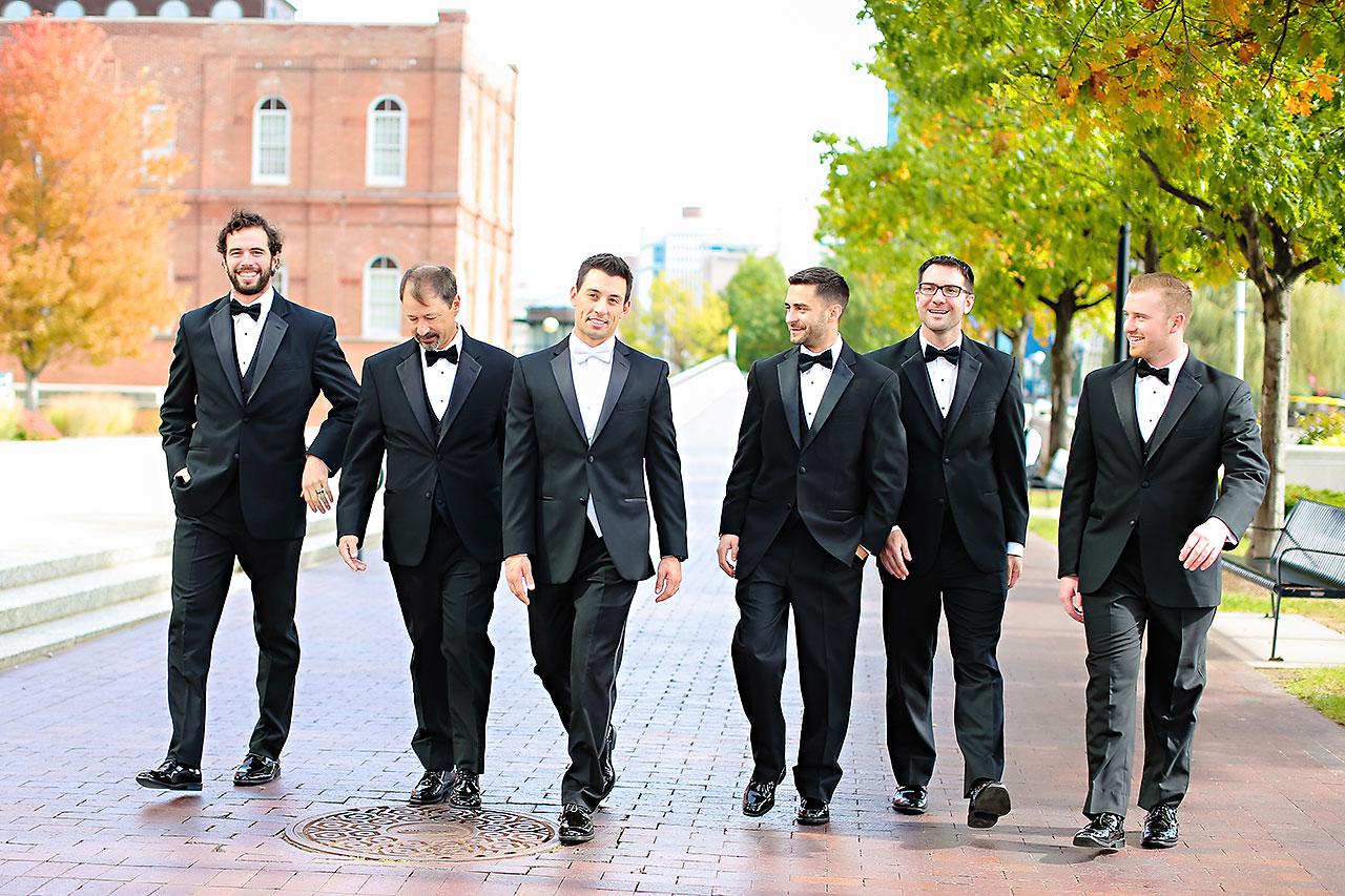 Kayci Matt Indiana Roof Ballroom Indianapolis Wedding 159